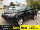 Used 2014 Toyota RAV4 LE/LOW, LOW KMS!/ PRICED FOR A QUICK SALE ! for sale in Kitchener, ON