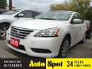 Used 2015 Nissan Sentra MASSIVE CLEAROUT!/PRICED FOR A QUICK SALE!! for sale in Kitchener, ON