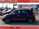 Used 2015 Fiat 500 L LOUNGE|LEATHER|NAVIGATION|SUNROOF for sale in Milton, ON