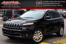 New 2017 Jeep Cherokee NEW Car Limited|4x4|Nav|Sunroof|Htd Front Seats|RearCam|18