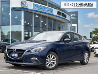 Used 2016 Mazda MAZDA3 GS ONE OWNER|NO ACCIDENTS|1.99% FINANCE AVAILABLE for sale in Mississauga, ON