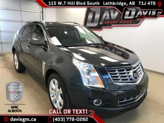 Used 2014 Cadillac SRX -Heated Leather, Sunroof, Navigation, Rear Camera for sale in Lethbridge, AB