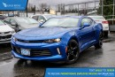 New 2017 Chevrolet Camaro 1LT Satellite Radio and Backup Camera for sale in Port Coquitlam, BC