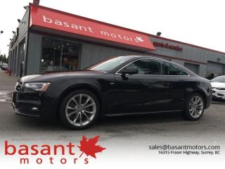Used 2016 Audi A5 Manual!! S-Line, Heated Seats, Sunroof!! for sale in Surrey, BC