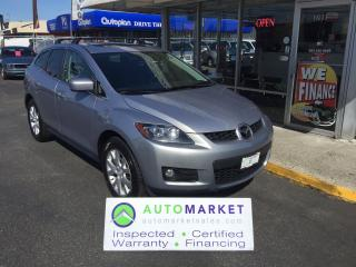 Used 2007 Mazda CX-7 GT, NAVI, BLUETOOTH, B-UP CAMERA! for sale in Langley, BC