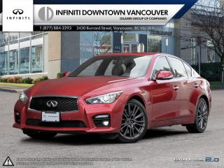 Used 2017 Infiniti Q50 Red Sport 400 AWD for sale in Vancouver, BC