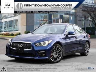 Used 2017 Infiniti Q50 Red Sport 400 AWD NO ACCIDENTS!! Driver Assistance, Technology and Design Package! for sale in Vancouver, BC