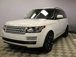 Used 2016 Land Rover Range Rover 5.0L V8 Supercharged SWB - CPO 6yr/160000kms manufacturer warranty included until November 29, 2022! CPO rates starting at 2.9%! Local One Owner Trade In | No Accidents | 3M Protection Applied | Park Assist | Reverse Traffic/Blind Spot/Closing Vehicle Sen for sale in Edmonton, AB