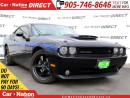 Used 2010 Dodge Challenger R/T Mopar| LOW KMs| LEATHER| TOUCH SCREEN| for sale in Burlington, ON