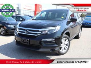 Used 2016 Honda Pilot 2WD 4dr LX for sale in Whitby, ON