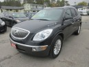 Used 2010 Buick Enclave LOADED CXL MODEL 7 PASSENGER 3.6L - V6 ENGINE.. AWD.. CAPTAINS.. 3RD ROW.. LEATHER.. CD/AUX INPUT.. for sale in Bradford, ON