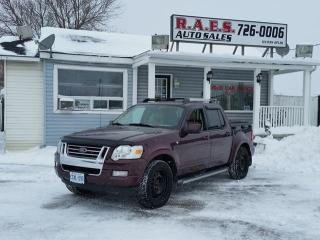 Used 2007 Ford Explorer Sport Trac AWD Limited for sale in Barrie, ON