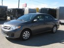 Used 2013 Toyota Corolla for sale in Georgetown, ON