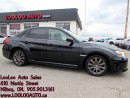 Used 2012 Subaru WRX WRX Turbo 5 Speed AWD Bluetooth Certified 2YR Warr for sale in Milton, ON
