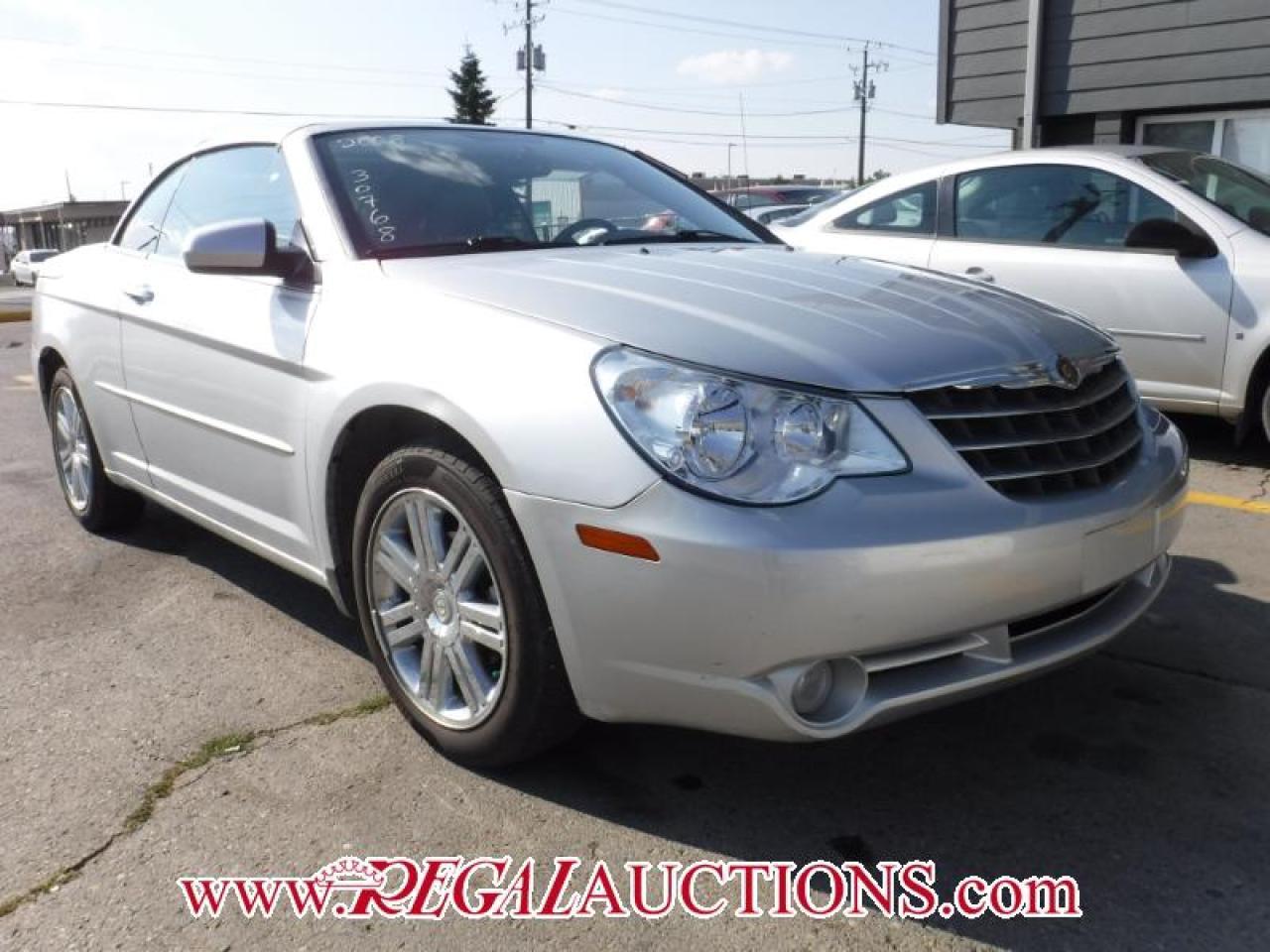 2008 Chrysler SEBRING LIMITED 2D CONVERTIBLE