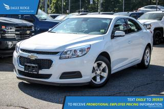 Used 2016 Chevrolet Malibu Limited LT Satellite Radio and Air Conditioning for sale in Port Coquitlam, BC