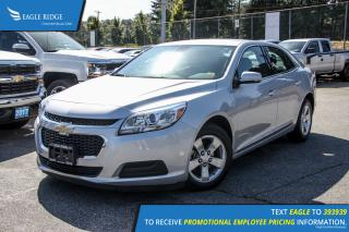 Used 2016 Chevrolet Malibu Limited LT AM/FM Radio and Air Conditioning for sale in Port Coquitlam, BC