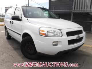 Used 2008 Chevrolet UPLANDER LS 4D WAGON for sale in Calgary, AB