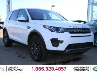 Used 2017 Land Rover Discovery Sport SE - CPO 6yr/160000kms manufacturer warranty included until December 30, 2022! CPO rates starting at 2.9%! Locally Owned and Driven | Executive Demo | 3M Protection Applied | Navigation | Back Up Camera | Parking Sensors | Xenon Headlamps | Heated W for sale in Edmonton, AB