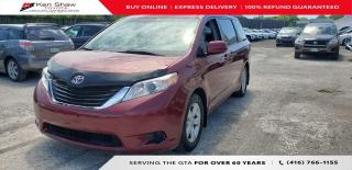 Used 2012 Toyota Sienna 8 PASSENGER for sale in Toronto, ON