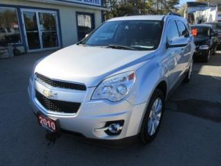 Used 2010 Chevrolet Equinox 'GREAT VALUE' FUEL EFFICIENT LT MODEL 5 PASSENGER 2.4L - ECO-TEC ENGINE.. ECO-BOOST PACKAGE.. CD/AUX/USB INPUT.. for sale in Bradford, ON