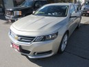 Used 2014 Chevrolet Impala LOADED LT MODEL 5 PASSENGER 2.5L - ECO-TEC ENGINE.. LEATHER.. HEATED SEATS.. NAVIGATION.. BACK-UP CAMERA.. for sale in Bradford, ON