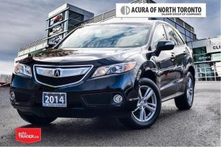 Used 2014 Acura RDX Tech at No Accident| Remote Start| Navigation for sale in Thornhill, ON