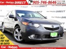 Used 2013 Acura TSX Premium| LEATHER| SUNROOF| for sale in Burlington, ON