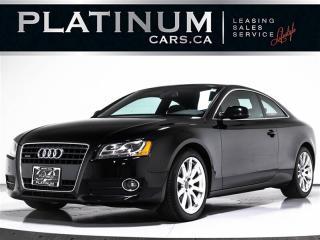 Used 2011 Audi A5 2.0T Quattro, Premium PLUS, NAVI, CAM, Sunroof for sale in Toronto, ON