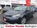 Used 2014 Toyota Corolla REARVIEW CAMERA | ALLOYS | BLUETOOTH for sale in Burlington, ON