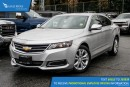 Used 2016 Chevrolet Impala 2LT Satellite Radio and Backup Camera for sale in Port Coquitlam, BC