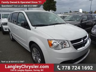 New 2017 Dodge Grand Caravan CVP/SXT for sale in Surrey, BC