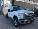 Used 2012 Ford F-350 XLT Extended Cab Cabin Chassis 4X4 Gas for sale in North York, ON