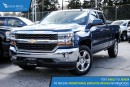 New 2017 Chevrolet Silverado 1500 1LT Navigation and Backup Camera for sale in Port Coquitlam, BC