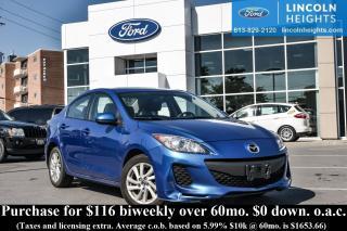 Used 2013 Mazda MAZDA3 i Sport AT 4-Door for sale in Ottawa, ON