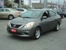 Used 2012 Nissan Versa SV for sale in Gloucester, ON
