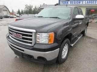 Used 2013 GMC Sierra 1500 POWER EQUIPPED SLE EDITION 6 PASSENGER 4.8L - V8 ENGINE.. 4X4.. EXT-CAB.. SHORTY.. CD/AUX INPUT.. KEYLESS ENTRY.. for sale in Bradford, ON