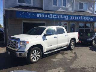 Used 2015 Toyota Tundra Limited  for sale in Niagara Falls, ON