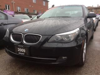 Used 2009 BMW 5 Series 528i x-Drive Bluetooth Leather Alloys Sunroof for sale in Scarborough, ON