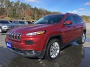 Used 2015 Jeep Cherokee Limited - Dual Pane Sunroof - Nav for sale in Norwood, ON