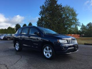 Used 2017 Jeep Compass Sport + A/C + RADIO 230 + BLUETOOTH + NO EXTRA DEALER FEES for sale in Surrey, BC