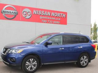 Used 2017 Nissan Pathfinder SV/AWD/ONE OWNER/HEATED SEATS for sale in Edmonton, AB