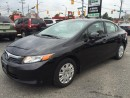 Used 2012 Honda Civic LX l GREAT VALUE l CLEAN CAR for sale in Waterloo, ON