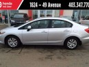 Used 2012 Honda Civic for sale in Red Deer, AB