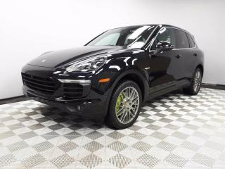 Used 2016 Porsche Cayenne E-Hybrid CERTIFIED PRE-OWNED | HYBRID | Premium PLUS for sale in Edmonton, AB