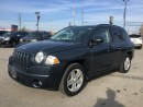 Used 2008 Jeep COMPASS SPORT * 4WD * POWER GROUP * EXTRA CLEAN for sale in London, ON