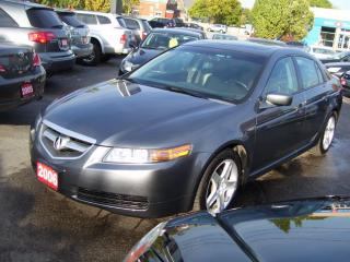 Used 2006 Acura TL 3.2 TL,Lether,Sun Roof,Key less,Alloys for sale in Kitchener, ON