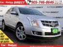 Used 2010 Cadillac SRX Luxury and Performance Collection| NAVI| PANO ROOF for sale in Burlington, ON