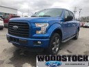 Used 2016 Ford F-150 4x4 - Supercrew XLT - 145 WB for sale in Woodstock, ON