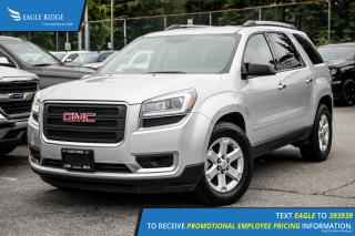 Used 2016 GMC Acadia SLE1 Satellite Radio and Backup Camera for sale in Port Coquitlam, BC